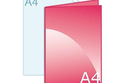 Gevouwen A4