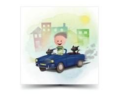 Laat online uw enkele kaarten drukken met gratis proefdruk