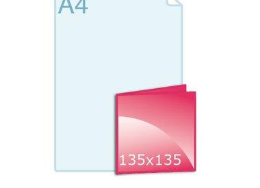 Kerstkaarten drukken carré 135