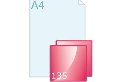 Enkele kaart carré 135