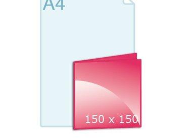 Gevouwen carré 150