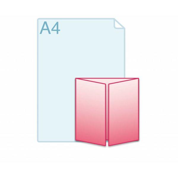 Luikvouw carré 150 150 (150 x 150 mm)