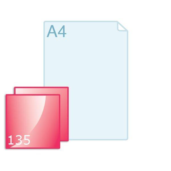 Enkele kaart carré 135 (135 x 135 mm) maken