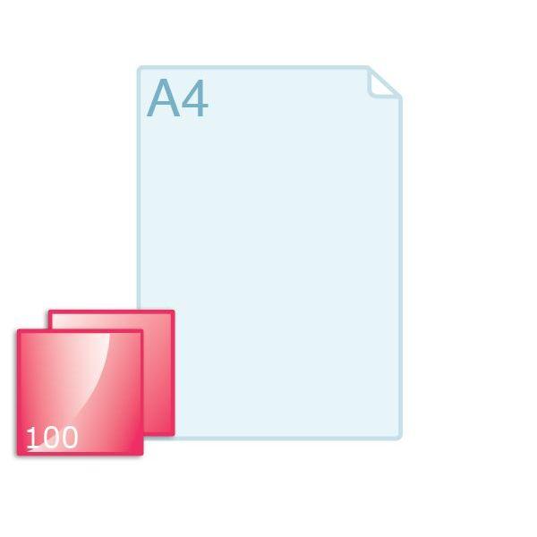 Enkele kaart carré 100 (100 x 100 mm) maken