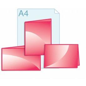 Folders eigen formaat kleiner dan A4