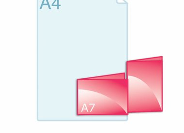 Folders A7 (74 x 105 mm)