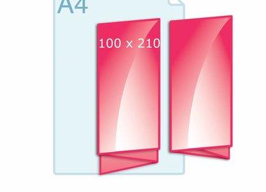 Folder 100 x 210 mm