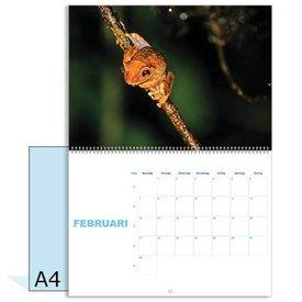 Omlegkalender A3 dubbelzijdig 13 bladen