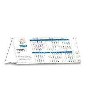 Bureaujaarkalender driehoek gevouwen