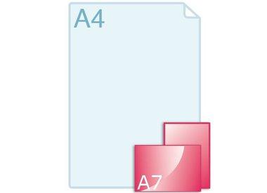 Enkele kaart A7
