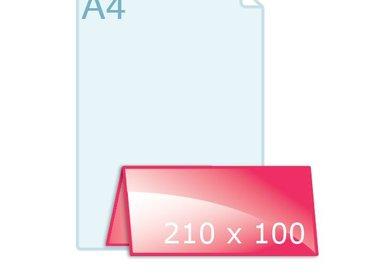 Gevouwen 210 x 100 VB