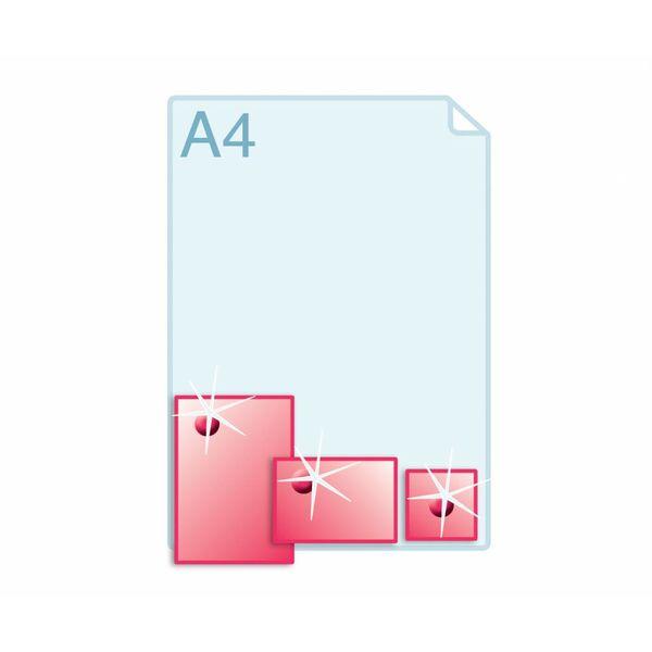 3D Touch Spotlak aanbrengen op enkele kaarten A6 (105 x 148 mm) of kleiner.