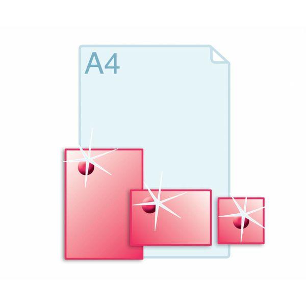 3D Touch Spotlak aanbrengen op enkele kaarten A5 (148 x 210 mm) of kleiner.