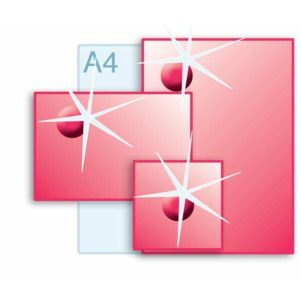 3D Touch Spotlak aanbrengen op enkele kaarten A3 (297 x 420 mm) of kleiner.