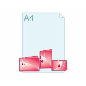 3D Touch Spotlak op gevouwen A6 of kleiner.