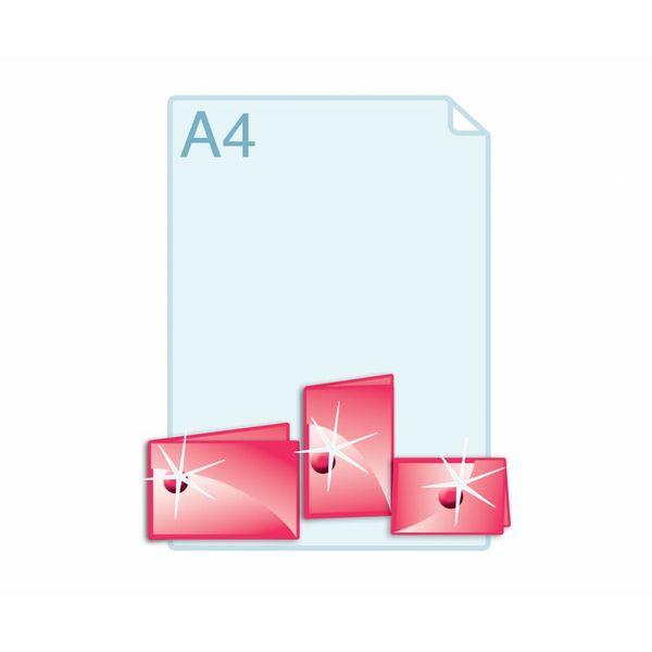 3D Touch Spotlak aanbrengen op gevouwen kaarten A6 (148 x 105 mm) of kleiner.