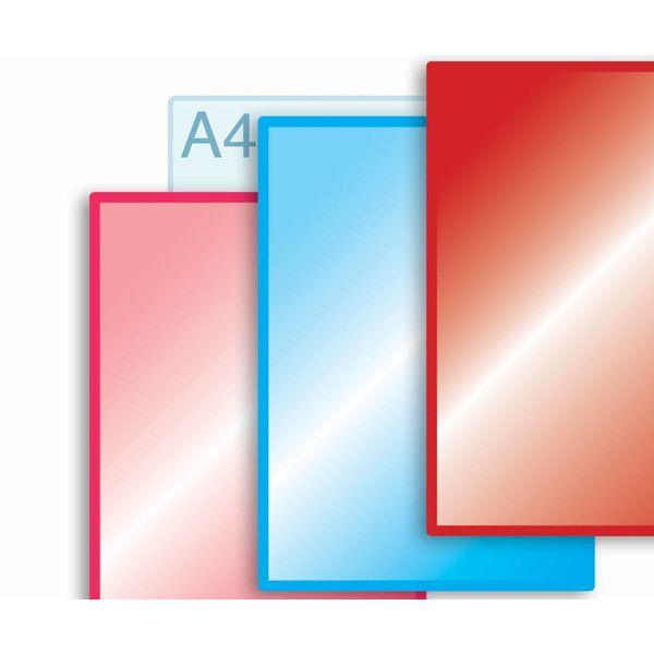 Laminaat aanbrengen op enkele kaarten A3 (297 x 420 mm) of kleiner.