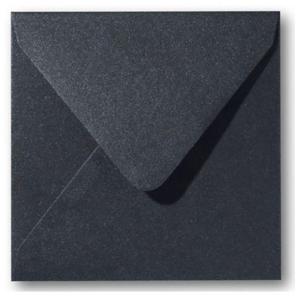 Bedrukte envelop carré 160 - Zwart