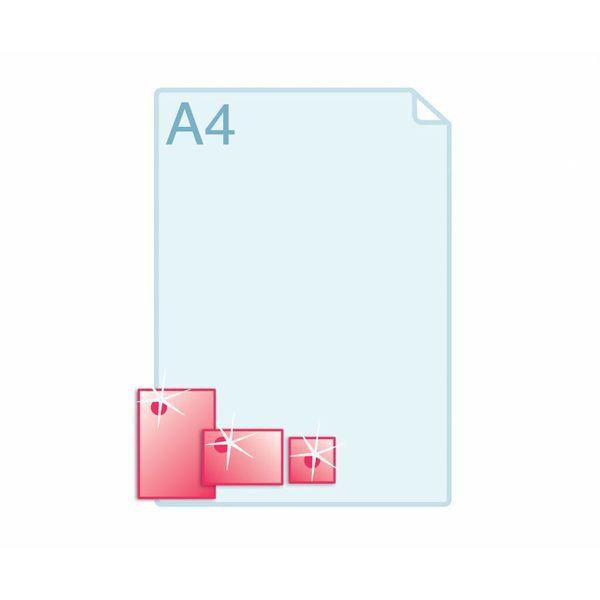 3D Touch Spotlak aanbrengen op enkele kaarten A76 (74 x 105 mm) of kleiner.