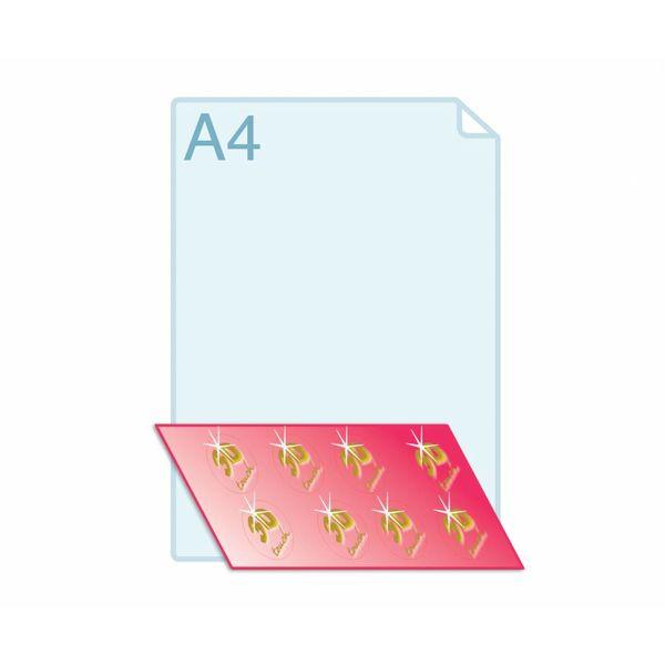 3D Touch Foliedruk aanbrengen op zelfklevende sluitzegels