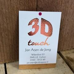 Luxe visitekaartjes drukken met gratis proefdruk