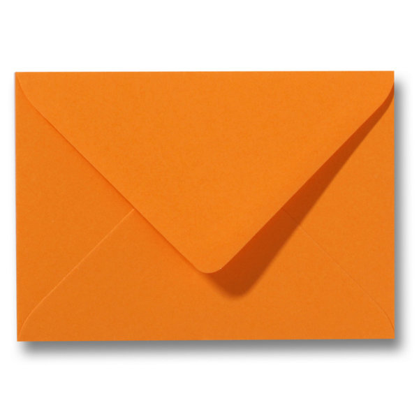 Blanco envelop 114 x 162 mm Oranje