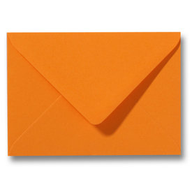 Blanco envelop 160 x 160 mm Oranje