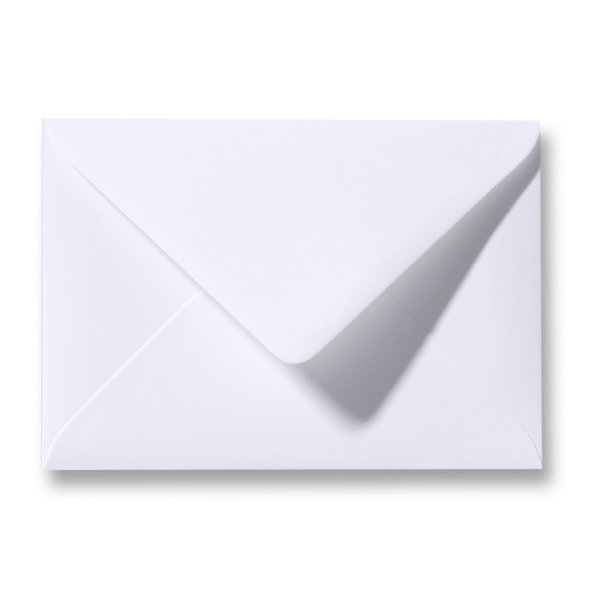 Blanco envelop 125 x 180 mm Wit