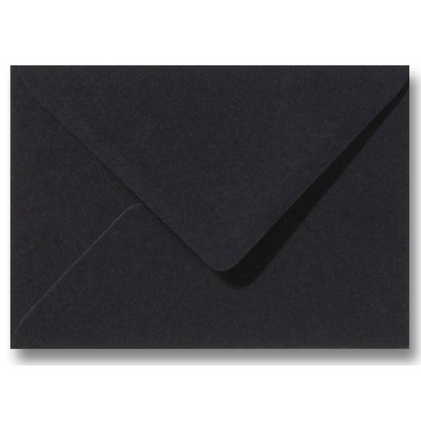 Blanco envelop 125 x 180 mm Zwart