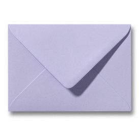 Blanco envelop 125 x 180 mm Lavendel