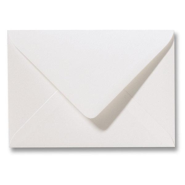 Blanco structuur envelop 110 x 220 mm Naturelle