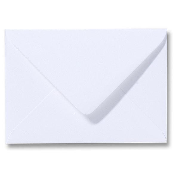 Blanco structuur envelop 114 x 162 mm Wit