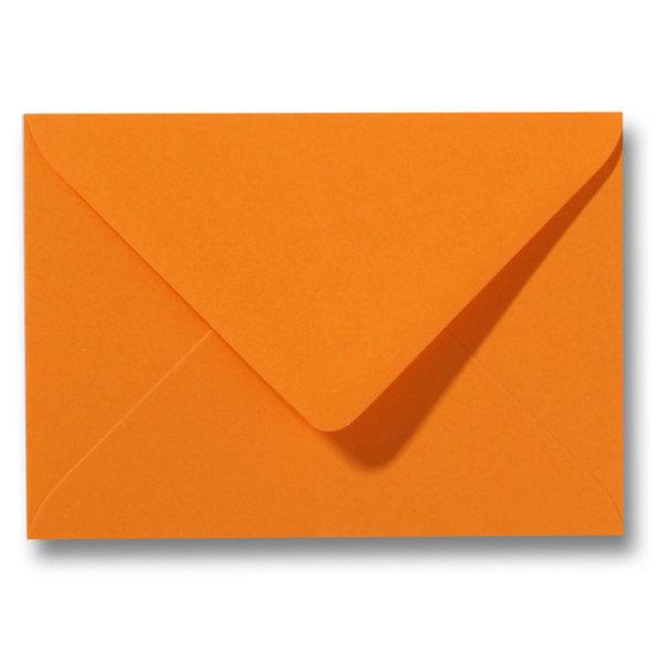 Bedrukte envelop 140 x 140 mm Oranje
