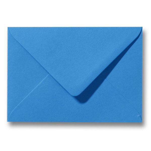 Bedrukte envelop 140 x 140 mm Turquoise