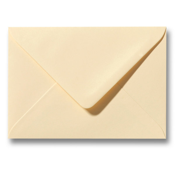 Bedrukte envelop 114 x 162 mm Chamois