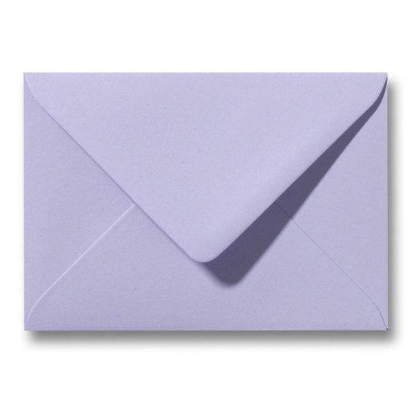 Bedrukte envelop 110 x 220 mm Lavendel