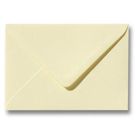 Bedrukte envelop 110 x 220 mm Zachtgeel