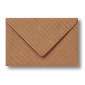 Bedrukte envelop 160 x 160 mm Kraftpapier