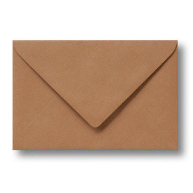 Bedrukte envelop 110 x 220 mm Kraftpapier