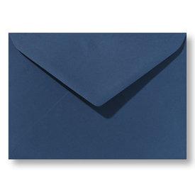 Bedrukte envelop 140 x 140 mm Donkerblauw