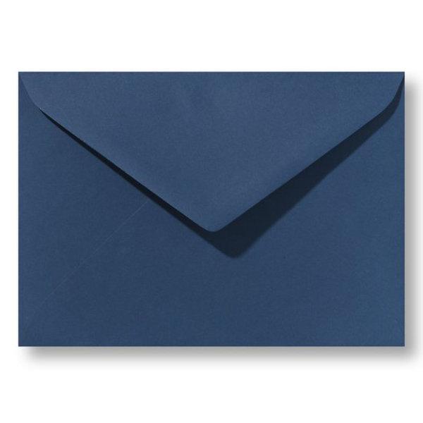 Bedrukte envelop 160 x 160 mm Donkerblauw