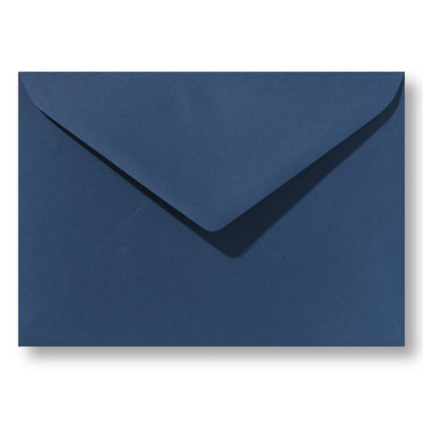 Bedrukte envelop 156 x 220 mm Donkerblauw