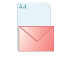 Enveloppen met een formaat van 156 x 220 mm
