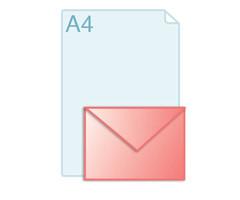 Enveloppen met een formaat van 180 x 125 mm