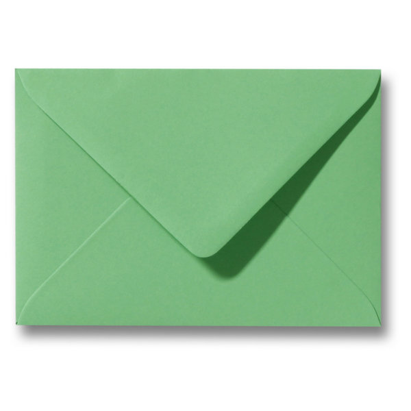 Blanco envelop 114 x 162 mm Lentegroen