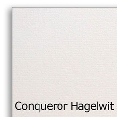 Conqueror vergé hagelwit