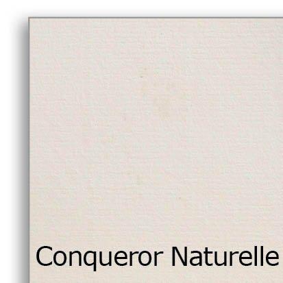 Conqueror vergé naturelle