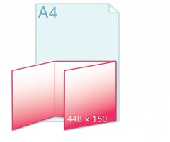 Drieluik carré 150 wikkel