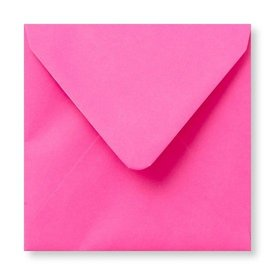 Gekleurde envelop Fucsia