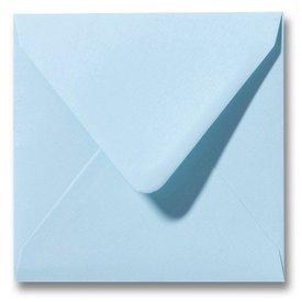 Gekleurde envelop Lagunablauw